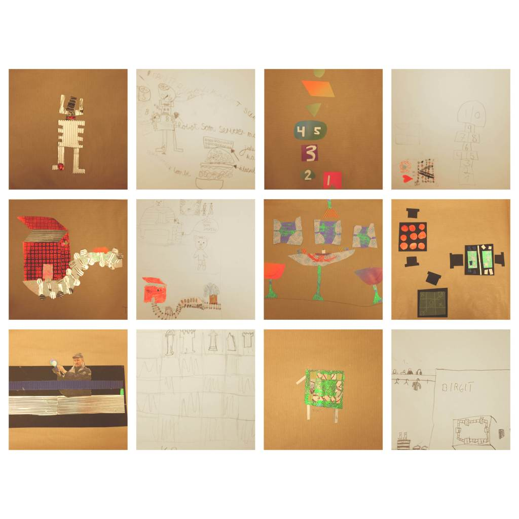 ArtClassCollages